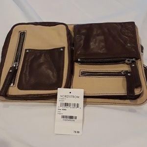 Nordstrom khaki fanny pack. NWT